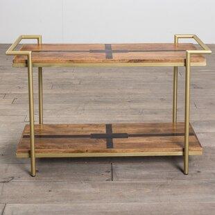 Union Rustic Nicolai Deco Console Table