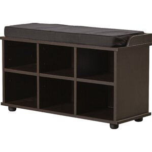 Arch Hill 6 Cubby Storage Bench