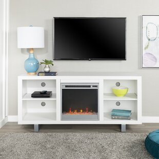 Depasquale TV Stand for TVs up to 55 with Fireplace By Latitude Run