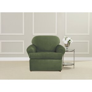 Ultimate T-Cushion Armchair Slipcover by Sure Fit