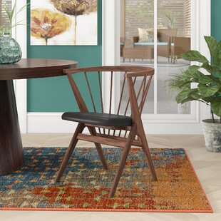 Chip Solid Wood Dining Chair Ivy Bronx