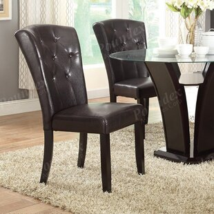 Winston Porter Staten Wide Back Support Upholstered Dining Chair (Set of 2)