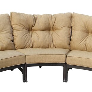 Carlitos Center Sectional with Cushion