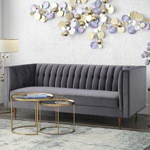 Cunningham Chesterfield Sofa by Corrigan Studio
