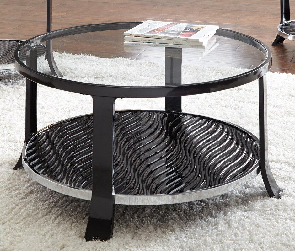 varick gallery abigail coffee table | wayfair