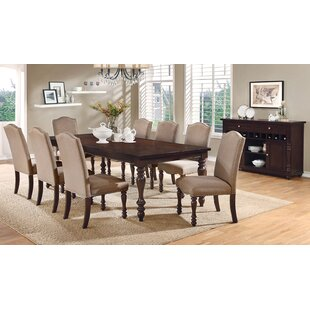 Hiram 9 Piece Dining Set Alcott Hill