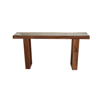 Michaela Live Edge Console Table