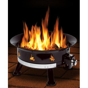 Outland Living Mega Steel Propane Fire Pit