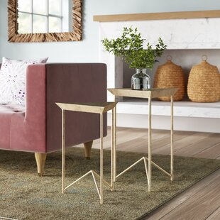 Astrid 2 Piece Nesting Tables by Mistana