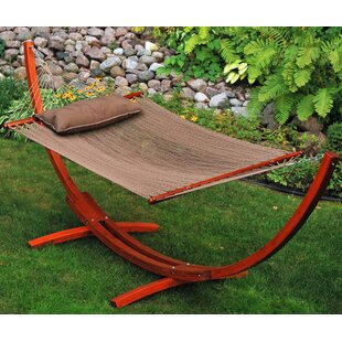 World Menagerie Patrick Polyester Hammock with Stand