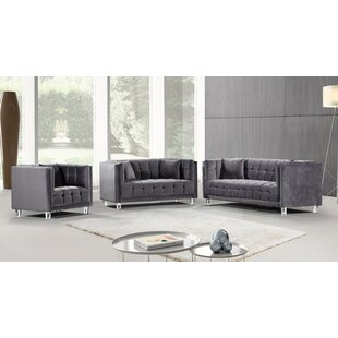 Rosdorf Park Keegan Configurable Living Room Set