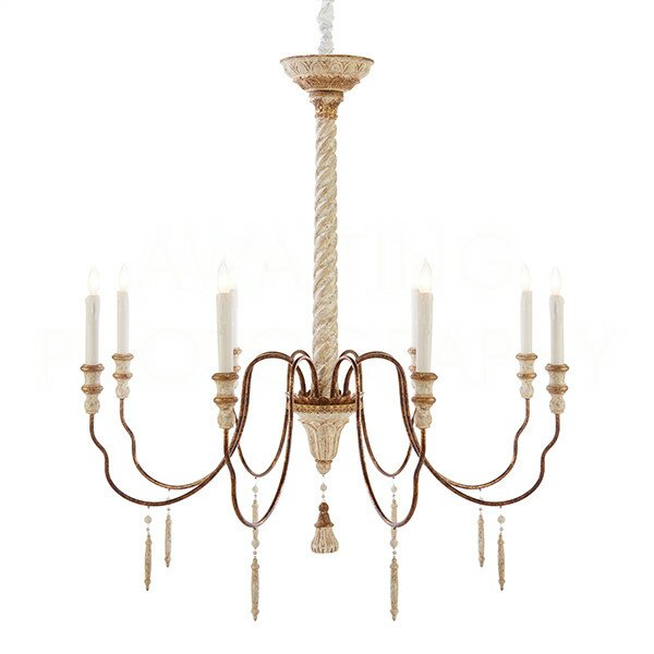 Yolonda Large Candle-Style Chandelier