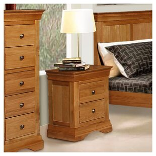 2 Drawer Bedside Table (Set Of 2) By August Grove