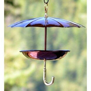 H. Potter Steel Umbrella Tray Bird Feeder