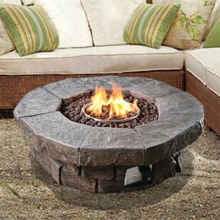 Annabesook Stone Propane Fire Pit By Sol 72 Outdoor