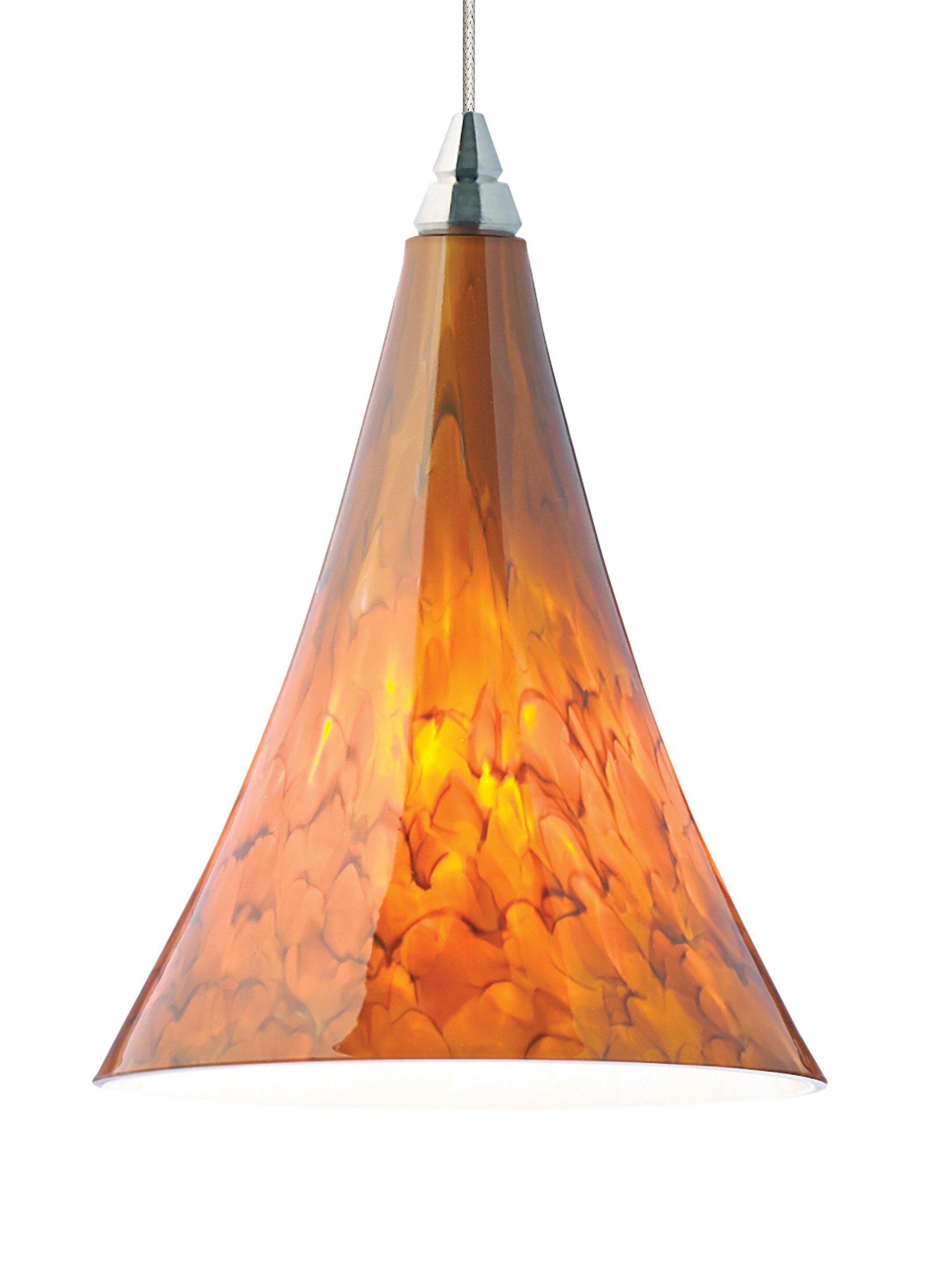 Tech Lighting Melrose 1 Light Cone Pendant Wayfair