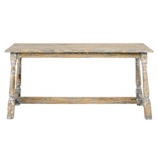 Carnation Wood Bench