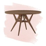 Carolina Rubber Solid Wood Dining Table by Foundstone™