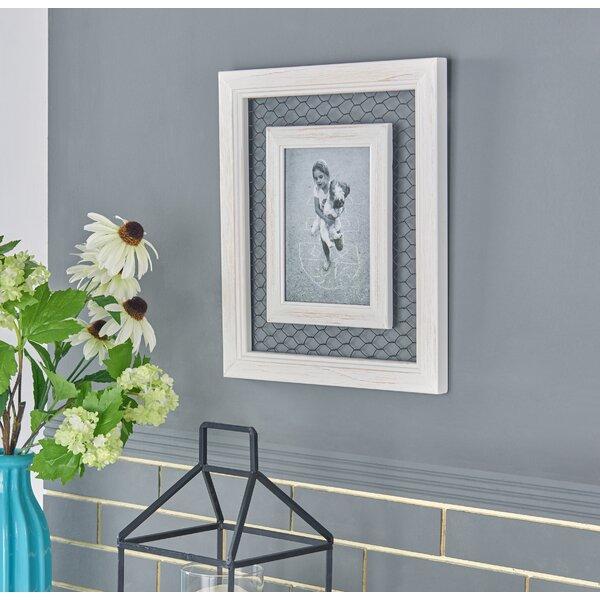 Gracie Oaks Bibiana Chicken Wire Wood Picture Frame Reviews Wayfair
