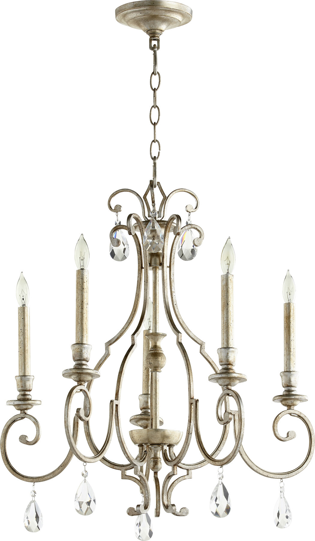 Ophelia Co Richason 5 Light Candle Style Classic Traditional Chandelier Reviews Wayfair Ca