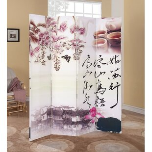 Red Barrel Studio Boyadjis Alluring Scenery 4 Panel Room Divider