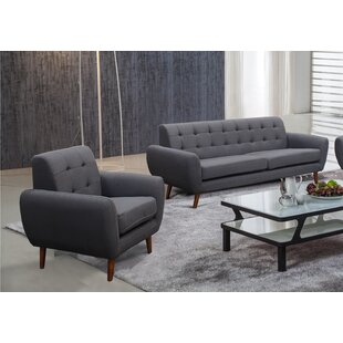 Zipcode Design Diara 2 Piece Living Room Set