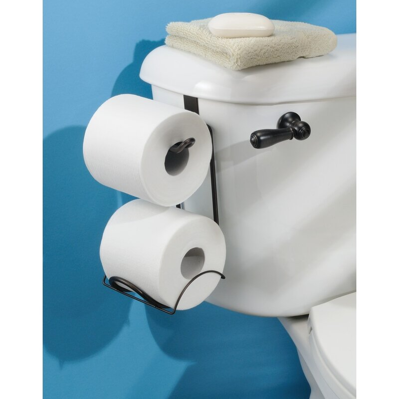 Rebrilliant Espana Over The Tank Toilet Paper Holder Reviews Wayfair