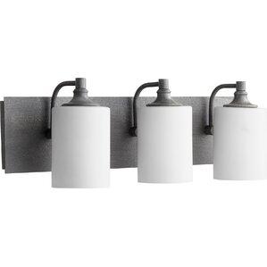 Bathroom Vanity Lights Black copper bathroom vanity lighting you'll love | wayfair