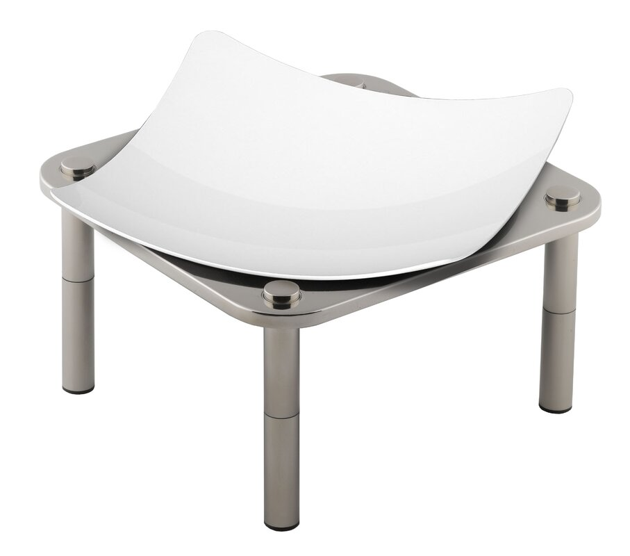 Domino Stainless Steel Dish Stand