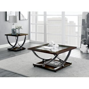 Rossana 2 Piece Coffee Table Set