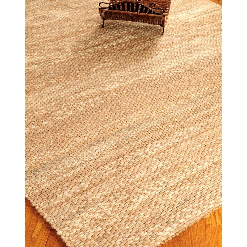 Natural Area Rugs Jute Garnet Wool Beige Area Rug Reviews Wayfair