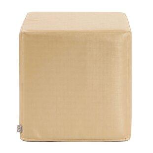 Contreras Shimme Cube Ottoman