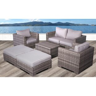 Pierson Modular 6 Piece Conversation Set with Cushions