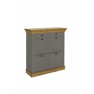 Bergen 16 Pair Shoe Storage Cabinet By August Grove