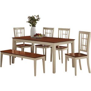 Pillar Modern 6 Piece Dining Set Part 71