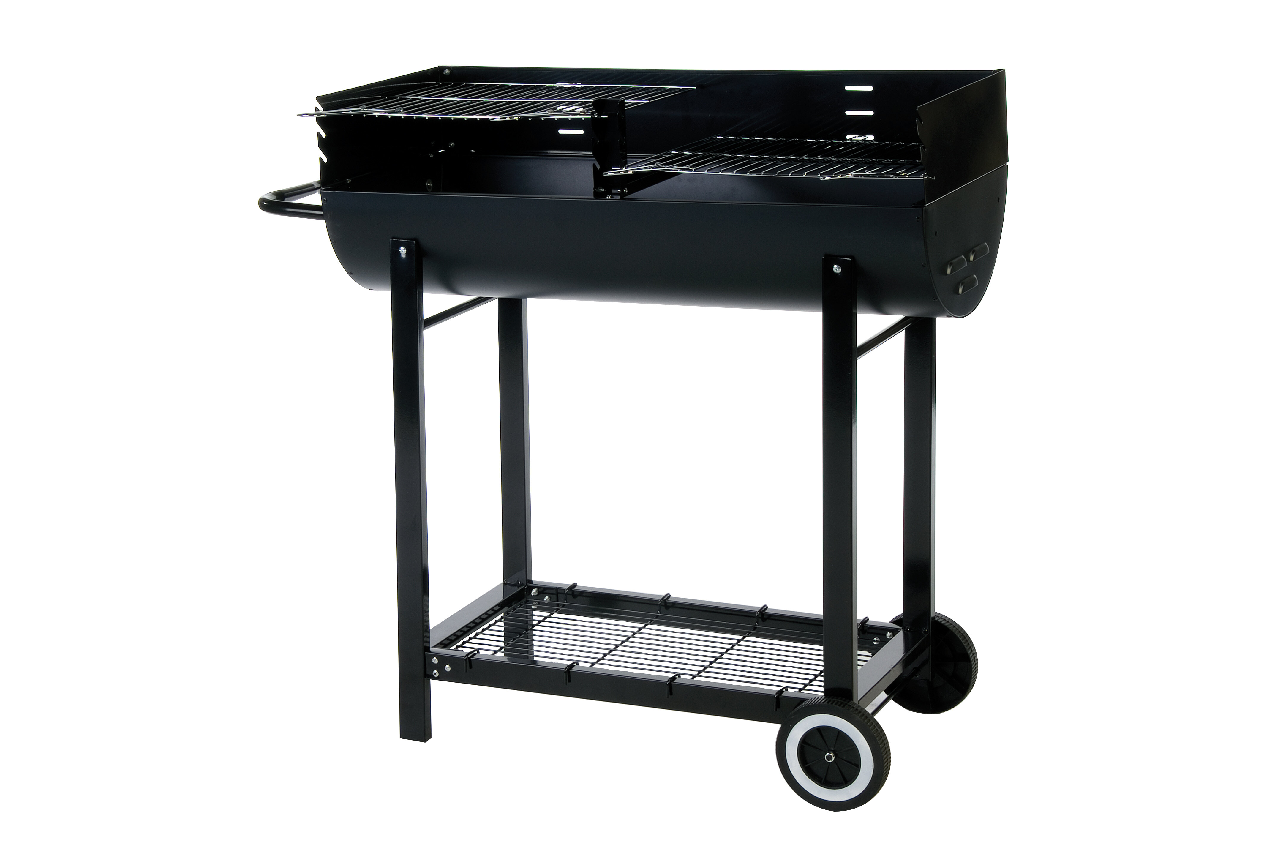 Lifestyle Appliances 40cm Barrel Charcoal Barbecue with Windshield ...