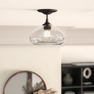 Mayfield 1 Light Semi Flush Mount