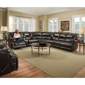 Starr Reclining Sectional by Darby Home Co