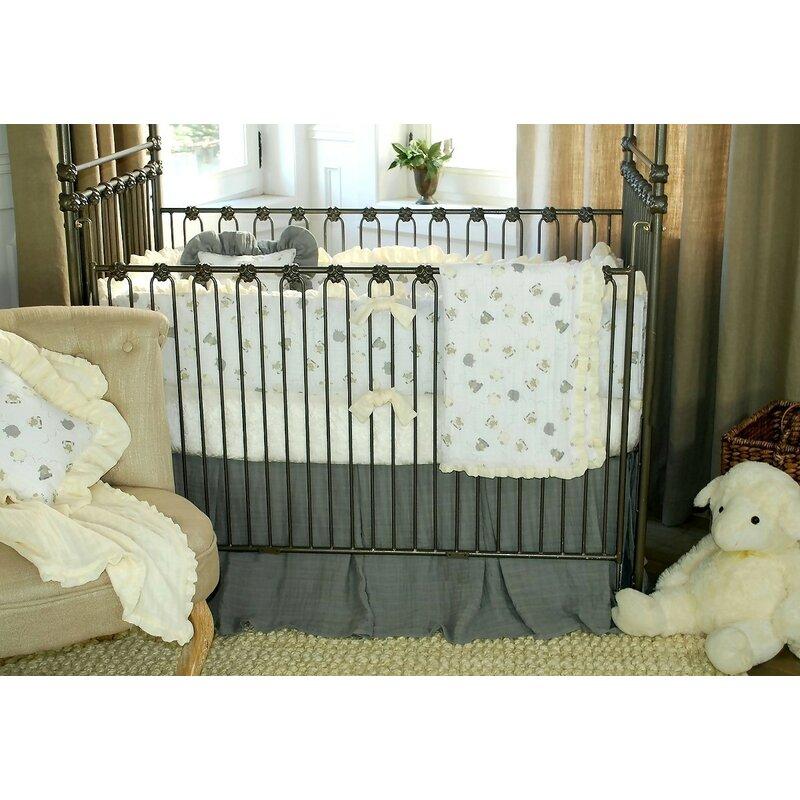 100 Cotton Lambie Ed Crib Sheet