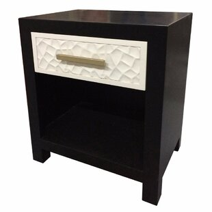 Tonnele 1 Drawer Nightstand by Mercer41
