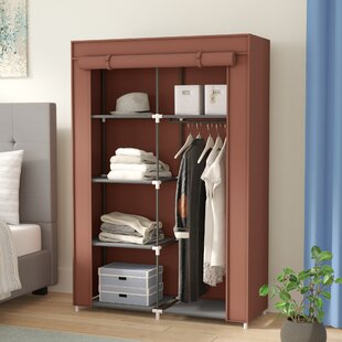 Coupon 42 W Portable Home Wardrobe By Rebrilliant