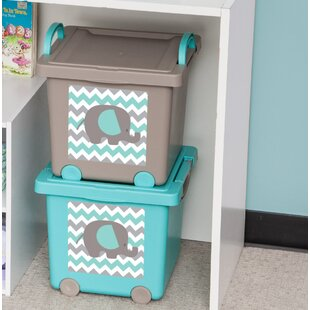 Read Reviews Baby Toy Storage Box (Set of 4) By IRIS USA, Inc.