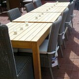 Eger Outdoor Bay Harbor Solid Wood Dining Table