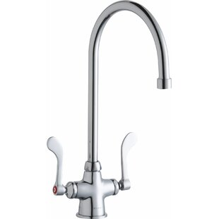 Elkay Commercial Single Hole Bathroom Faucet