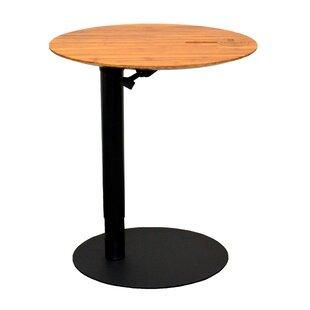 Adjustable Height Round Table.Height Adjustable Round Table Wayfair