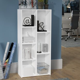 Gonzales Standard Bookcase by Ebern Designs Savings