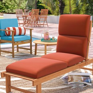 Kellner Indoor/Outdoor Sunbrella Chaise Lounge Cushion