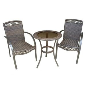 DC America 3 Piece Dining Set