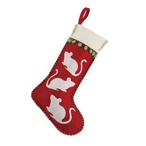 Mouse Felt Stocking