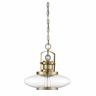 Breakwater Bay Anita 1-Light Dome Pendant